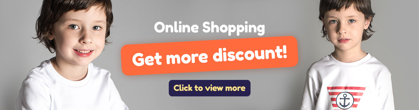 Online Shopping, Get more discount!